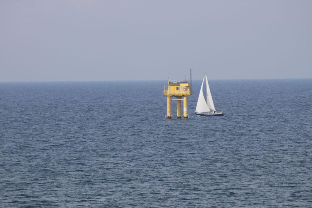 Riff Nienhagen Forschungsplattform in der Ostsee