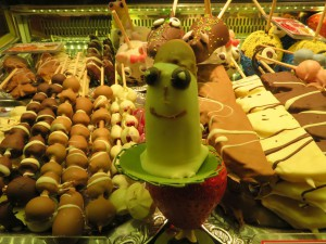 Schokolade & Süßes auf dem Weihnachtsmarkt Rostock