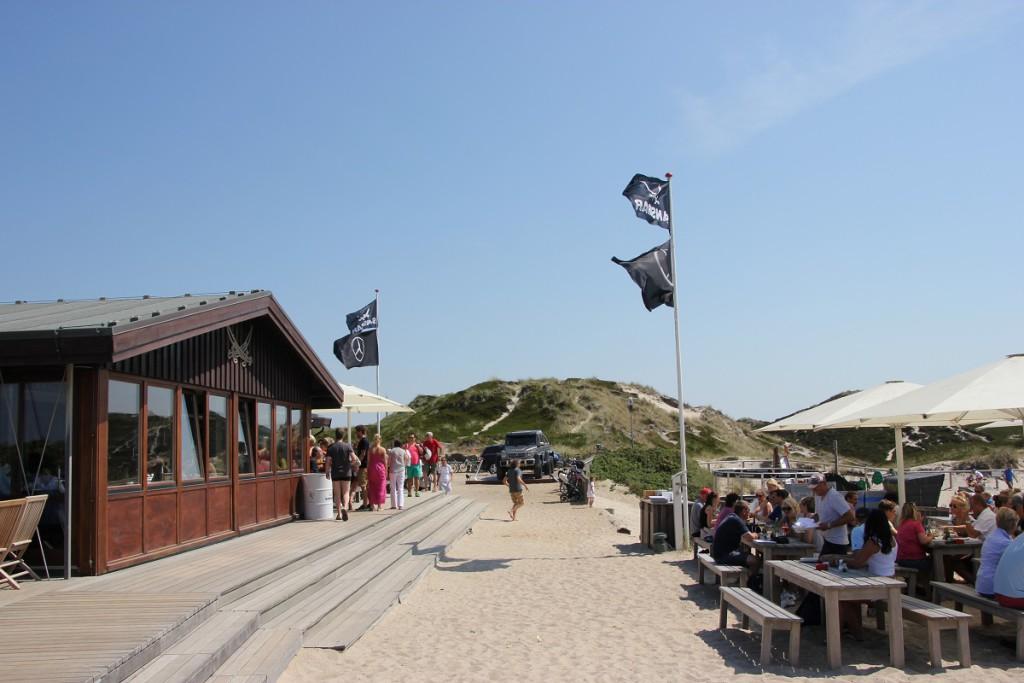 Sansibar Sylt Restaurant in den Dünen an der Nordsee
