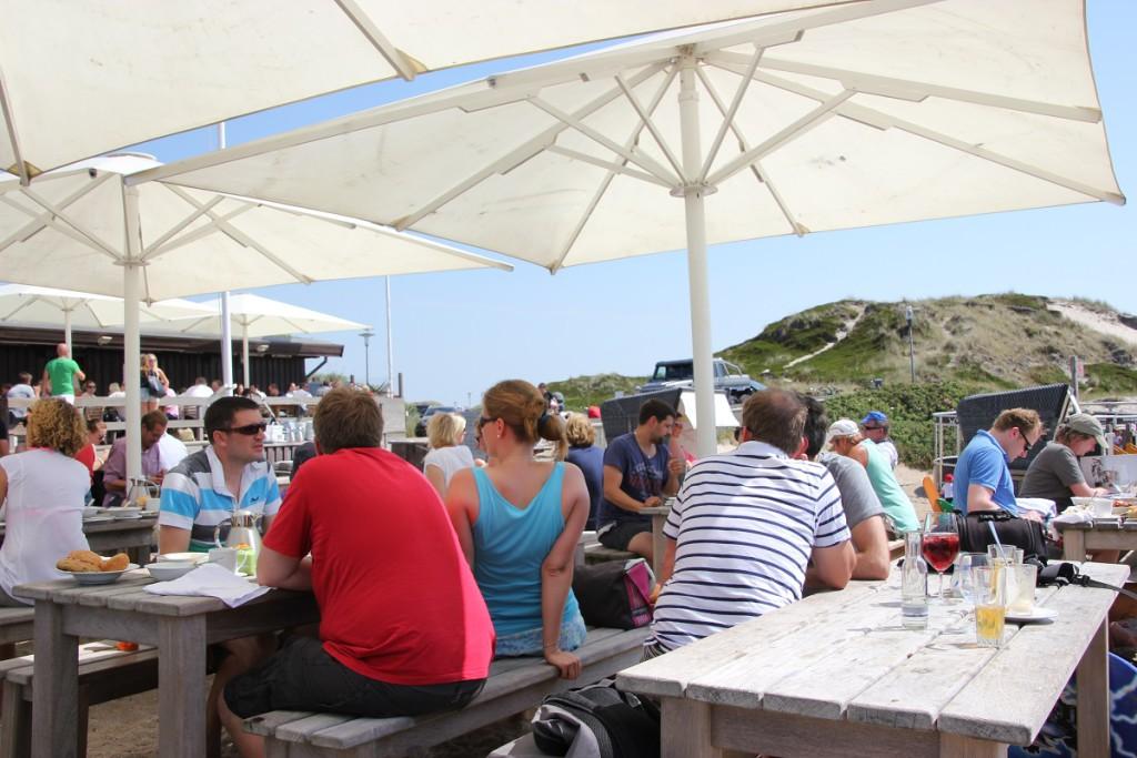 Sansibar Sylt Restaurant Außenbereich