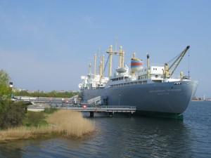 Schifffahrtsmuseum Rostock im Traditionsschiff an der Warnow