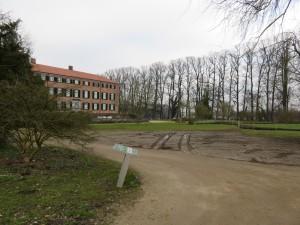 Schlossgarten Eutiner Schloss letzte Arbeiten vor Eröffnung der Landesgartenschau