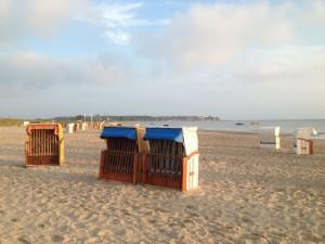 Sonne am Sehlendorfer Strand