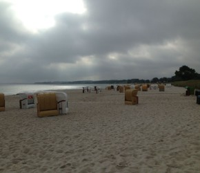 Strandkörbe am Sehlendorfer Strand