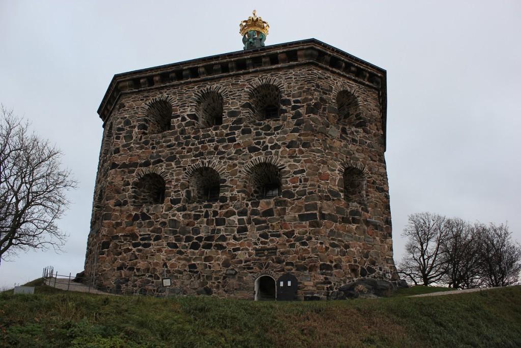 Festungsanlage Skansen Kronan auf dem Risasberget in Göteborg, Schweden