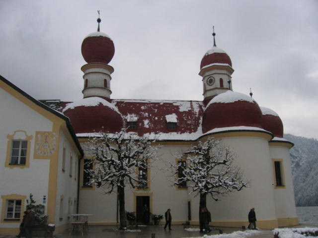 Wallfahrtskapelle St. Bartholomä am Königssee