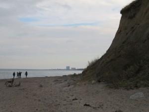 Steilküste Elmenhorst bei Warnemünde