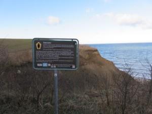 Stohl Ostsee Steilufer bei Kiel in Schleswig-Holstein