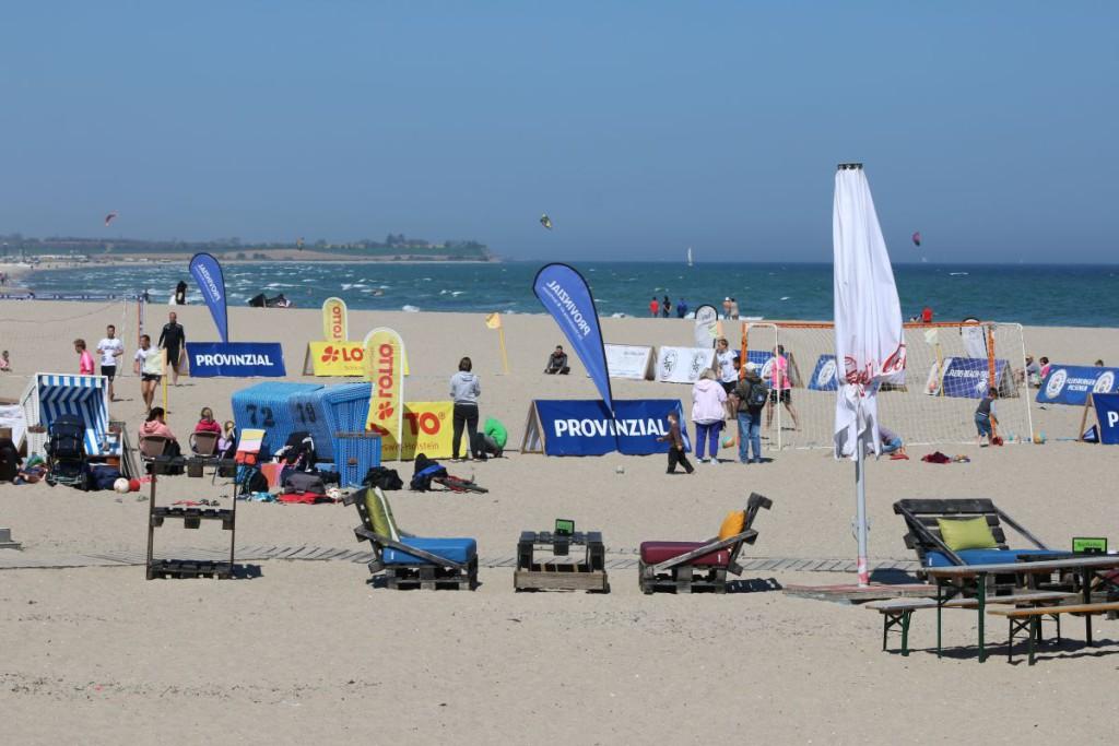 Beach Soccer Turnier Ostsee Damp