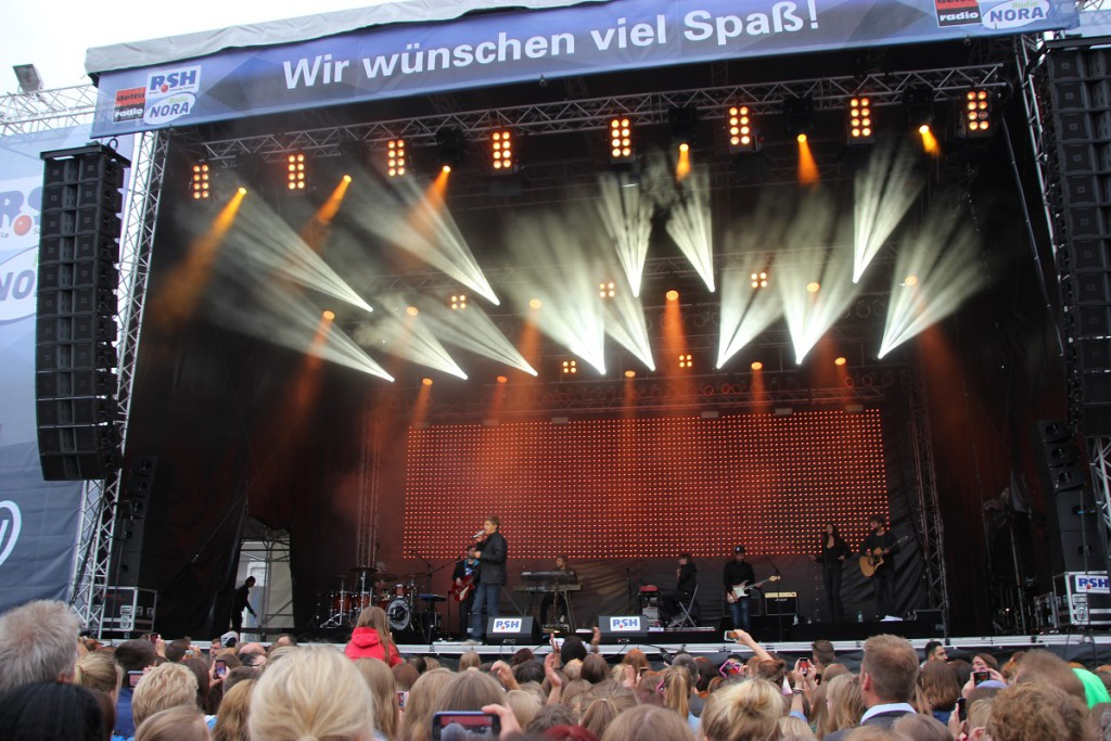 Tim Bendzko live auf der Kieler Woche 2014