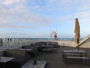 Warnemünde Strand Café am Teepott
