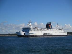 Scandlines Autofähre Rostock - Gedser (Dänemark)