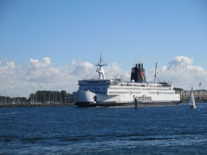 Scandlines Fähre Rostock - Gedser (Dänemark)
