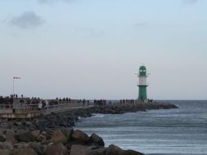 Warnemünde an der Ostsee