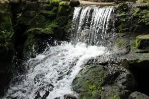 Wasserfall im Magic Garden Koh Samui
