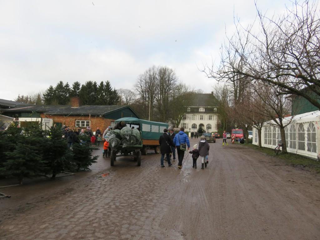 Weihnachtsmarkt Gut Augustenhof bei Osdorf nahe Kiel