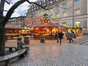 Asmus-Bremer-Platz Kiel Weihnachtsmarkt Holstenstraße