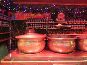 Feuerzangenbowle auf dem Weihnachtsmarkt Kiel
