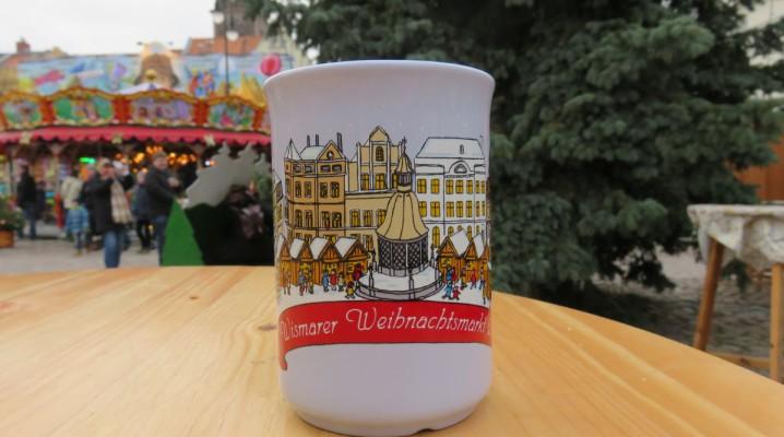 Weihnachtsmarkt Wismar Glühweintasse 2016