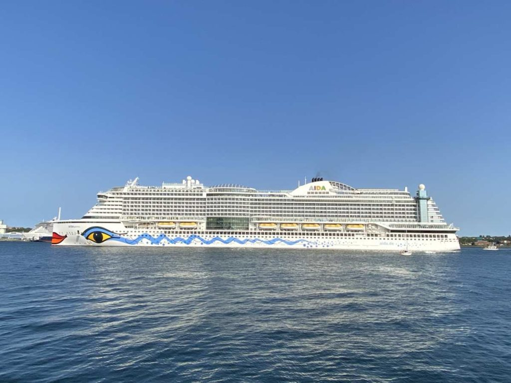 Kreuzfahrtschiff AIDAprima