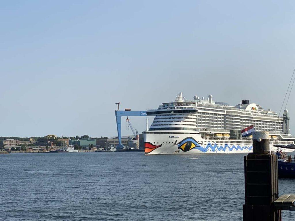 AIDAprima ab Kiel