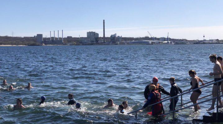 Anbaden Seebar Kiel