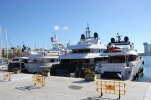 Barcelona Yacht Hafen Port Vell
