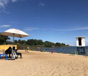 Spennah Beach am Victoriasee in Uganda