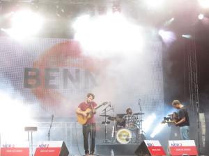 Benne Konzert Kieler Woche 2015 auf der NDR-Bühne am Ostseekai am 28.06.2015