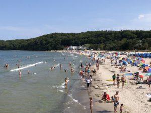 Ostsee Strand Binz auf Rügen
