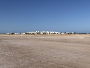 Blaue Lagune Djerba Tunesien