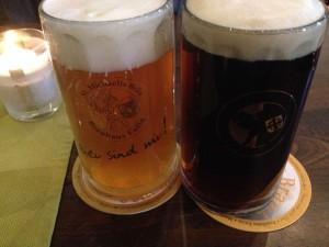Bier im Brauhaus Eutin: Pils & Rotbier