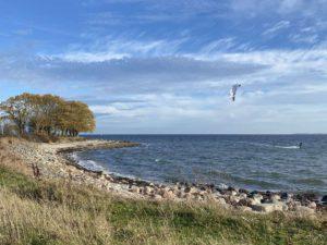 Kite Surfer am Bülker Strand