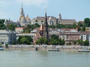 Burgviertel und Fischerbastei Budapest