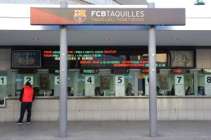 FC Barcelona Camp Nou Ticket Office