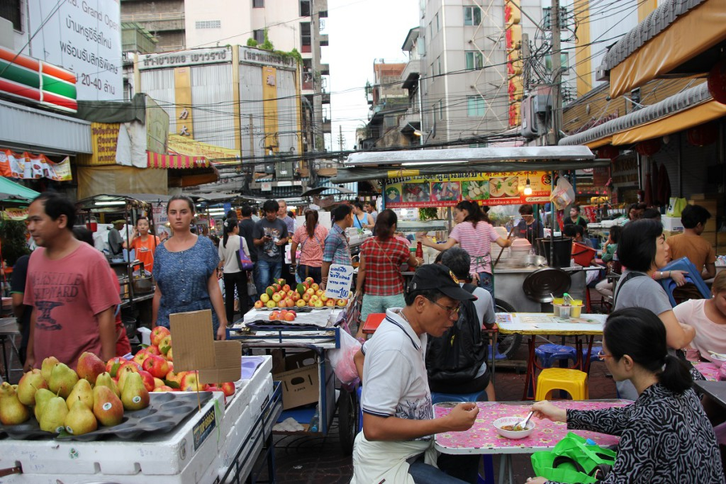Markt / Shopping in China Town Bangkok, Thailand