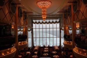 Color Line Restaurant mit Meerblick