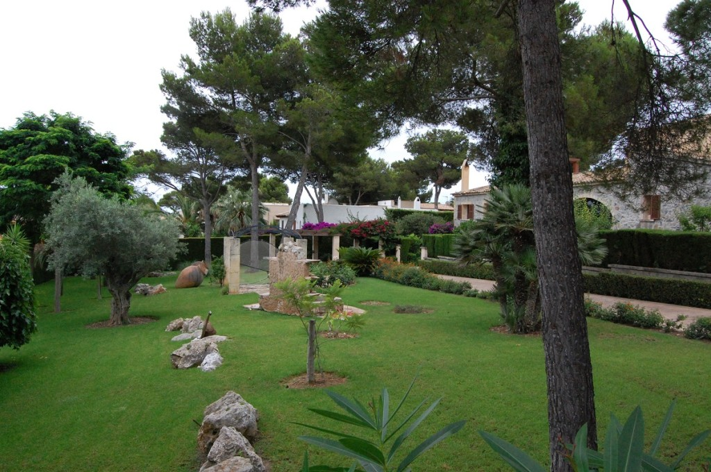 Garten in Costa de Canyamel