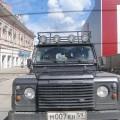 Mit dem Defender unterwegs in Perm