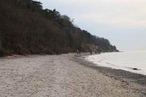 Strand in Diedrichshagen an der Ostsee bei Warnemünde