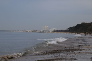 Strand Diedrichshagen bei Warnemünde an der Ostsee