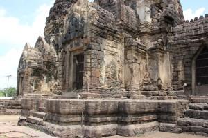 Drei Heilige Prangs (Tempeltürme) in Lop Buri