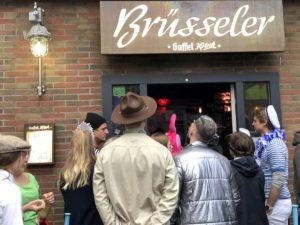 Eingang Brüsseler Köln