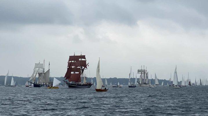 Segelschiffe Windjammerparade 2021 Kiel