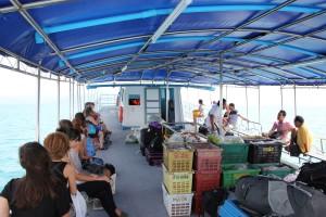 Fähre von Koh Samui nach Koh Phangan