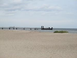 Fähranleger am Falckensteiner Strand