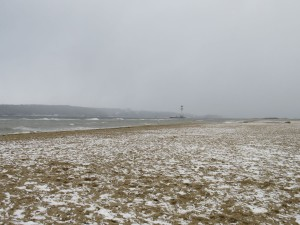 Leuchtturm Friedrichsort im Winter