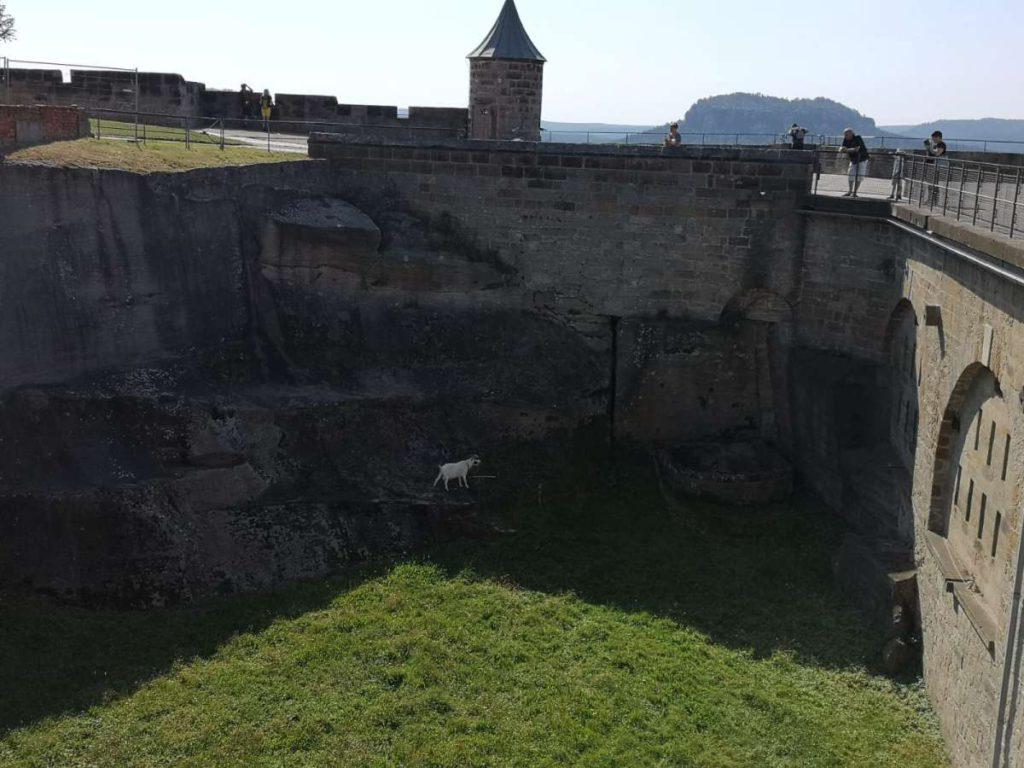 Festung Königstein Festungsmauern