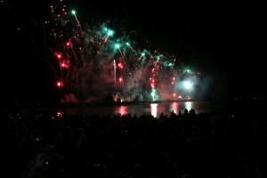 Feuerwerk Grömitz Ostsee in Flammen 2016