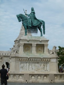Fischerbastei Statue von König Stephan I.